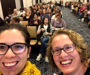 Becca and Joanna presenting at YALSA